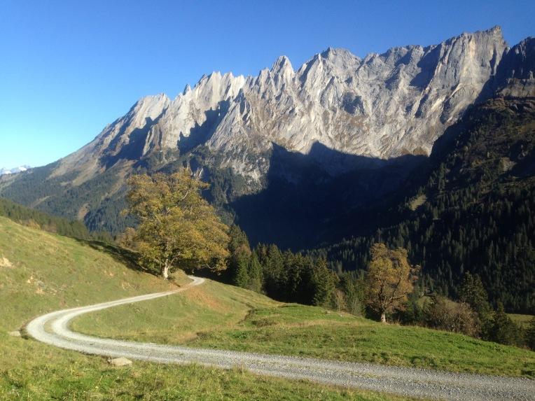 Weg im Rosenlaui-Tal