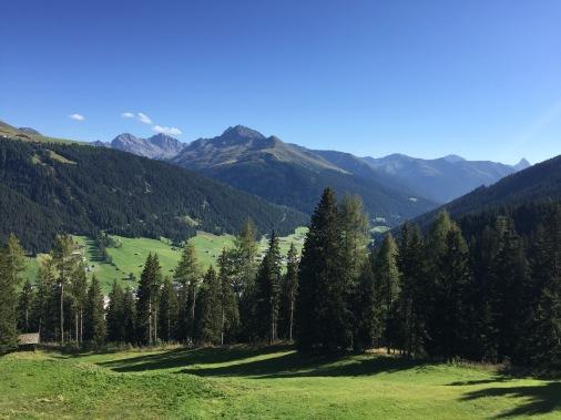 Blick vom Zauberberg, Schatzalp Davos